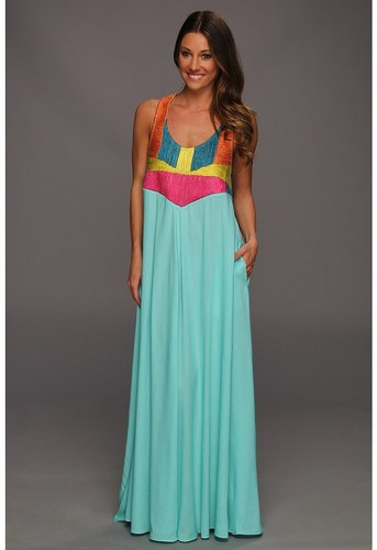 Mara Hoffman - Corded Tank Maxi Dress (MNT) - Apparel
