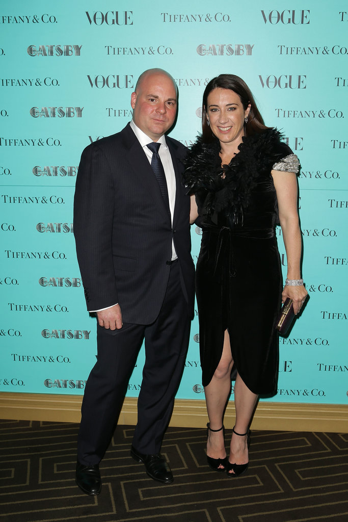 Managing Director Tiffany & Co Australia Glen Schlehuber and Vogue Editor Edwina McCann