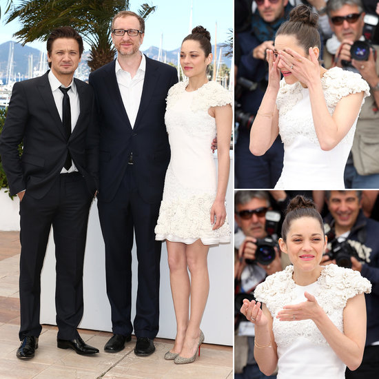 Marion Cotillard Tears Up During a Sunny Photo Call in Cannes