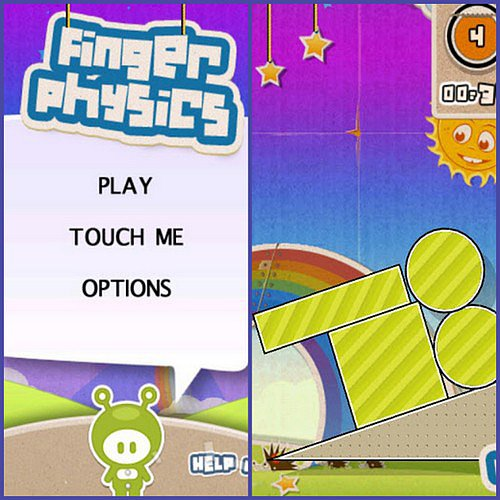Finger Physics (Free, Ages 7+)