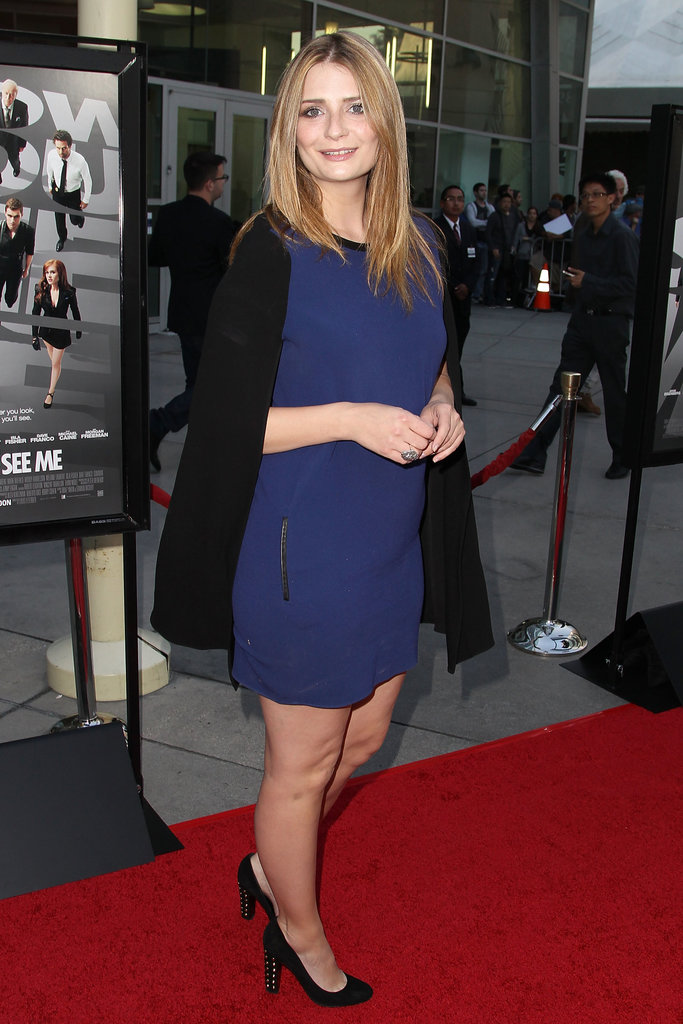 Mischa Barton walked the red carpet in LA.