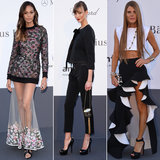 Fashion's favorites made their way out to the amfAR event at Cannes.