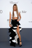 Anna dello Russo wore Spring 2013 Balenciaga at amfAR's 20th Annual Cinema Against AIDS gala in Cannes.