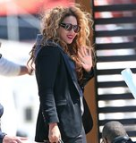 Beyoncé looked uniquely cool in her Karen Walker Blue Moon sunglasses ($273) during a getaway to the French Riviera.
