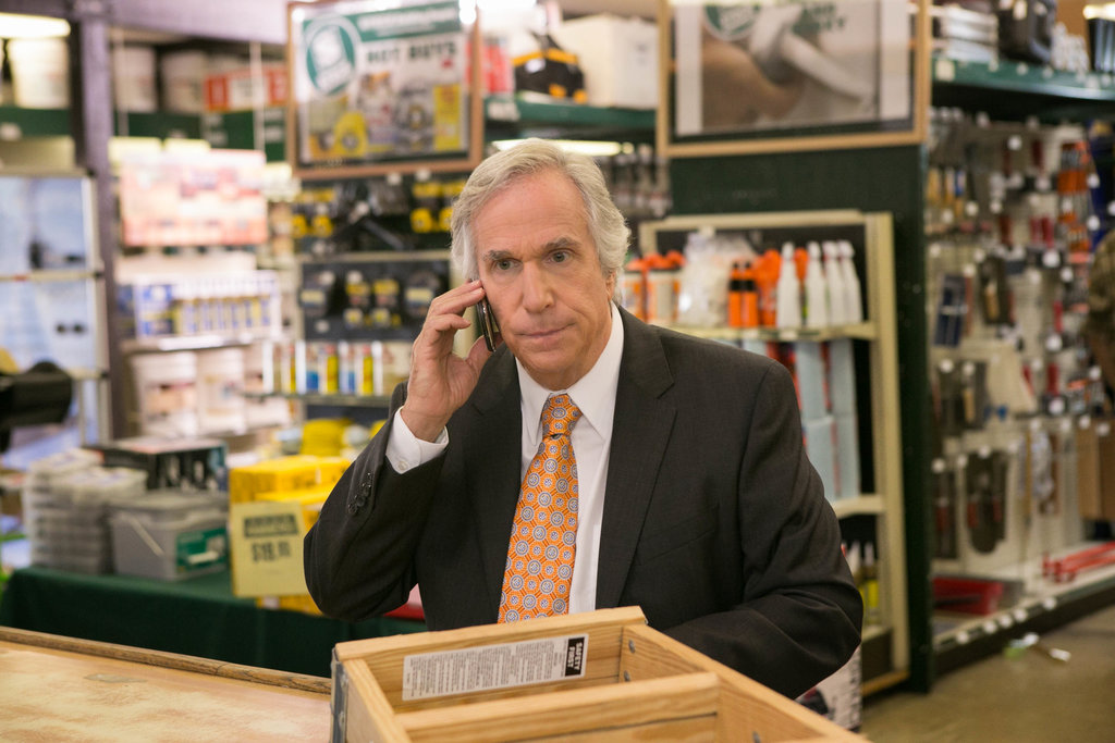 Henry Winkler as Barry Zuckerkorn on Arrested Development. Photos courtesy of Netflix