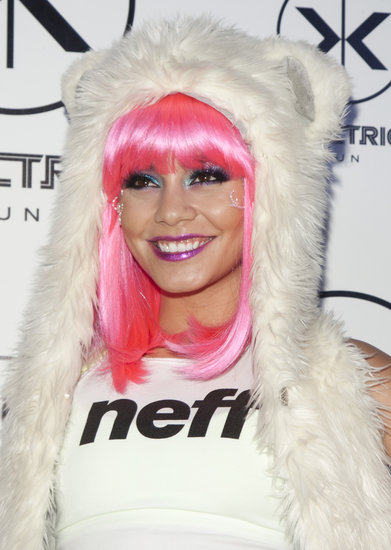 Vanessa Hudgens Looks Nearly Unrecognizable With Raver Makeover