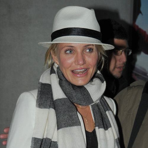 Cameron Diaz Arriving at Cannes | Photos