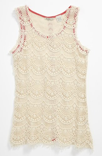 Miss Me Crochet Tank (Big Girls)