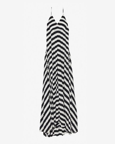 A.l.c. 20th Anniversary Capsule Collection Exclusive Striped Maxi Dress