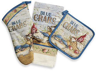 Blue Crabs Kitchen Linens