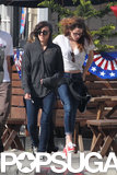 Kristen Stewart Skips Through Her Memorial Day Weekend
