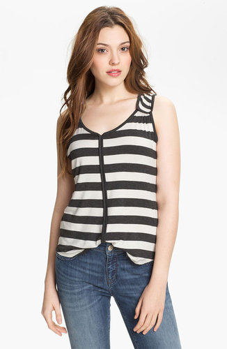 Pleione Tab Shoulder Stripe Tank