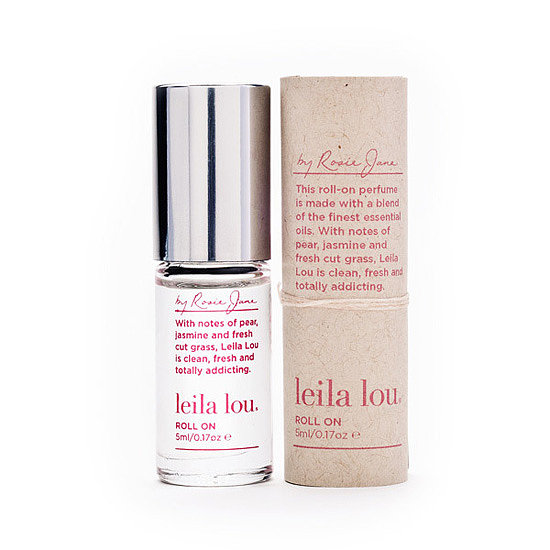 Whenever I wear Leila Lou ($39), I never fail to get multiple compliments. The light, refreshing blend of juicy pear, fresh-cut grass, and jasmine is feminine and clean and won't overpower on a hot Summer day.  — KD