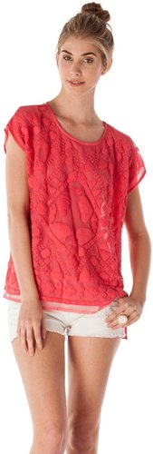 Romeo & Juliet Couture Woven Embroidered Top