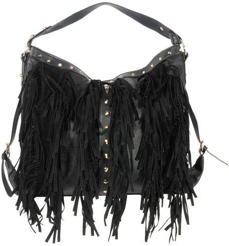 New Look Fringe Hobo Bag