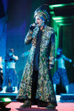 Adam Lambert performing at the 2013 Life Ball in Vienna, Austria.