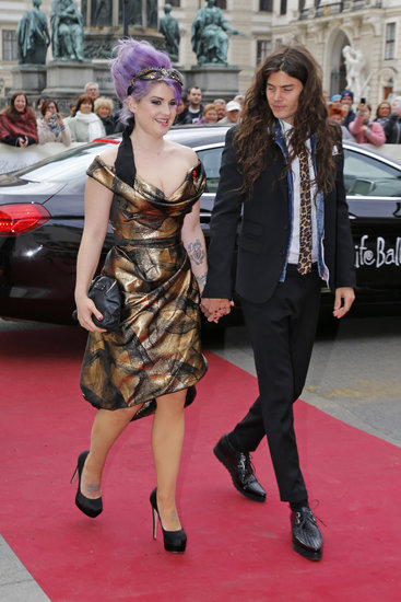Kelly Osbourne and Matthew Mosshart at the 2013 Life Ball in Vienna, Austria.