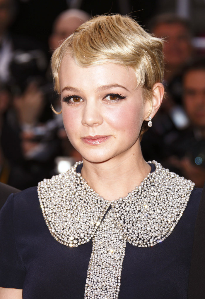 In 2010, she was back to her blond roots at the Wall Street: Money Never Sleeps premiere at the Cannes Film Festival. She tried out a slight finger wave for a vintage vibe that worked beautifully with her inky liner and full lashes.