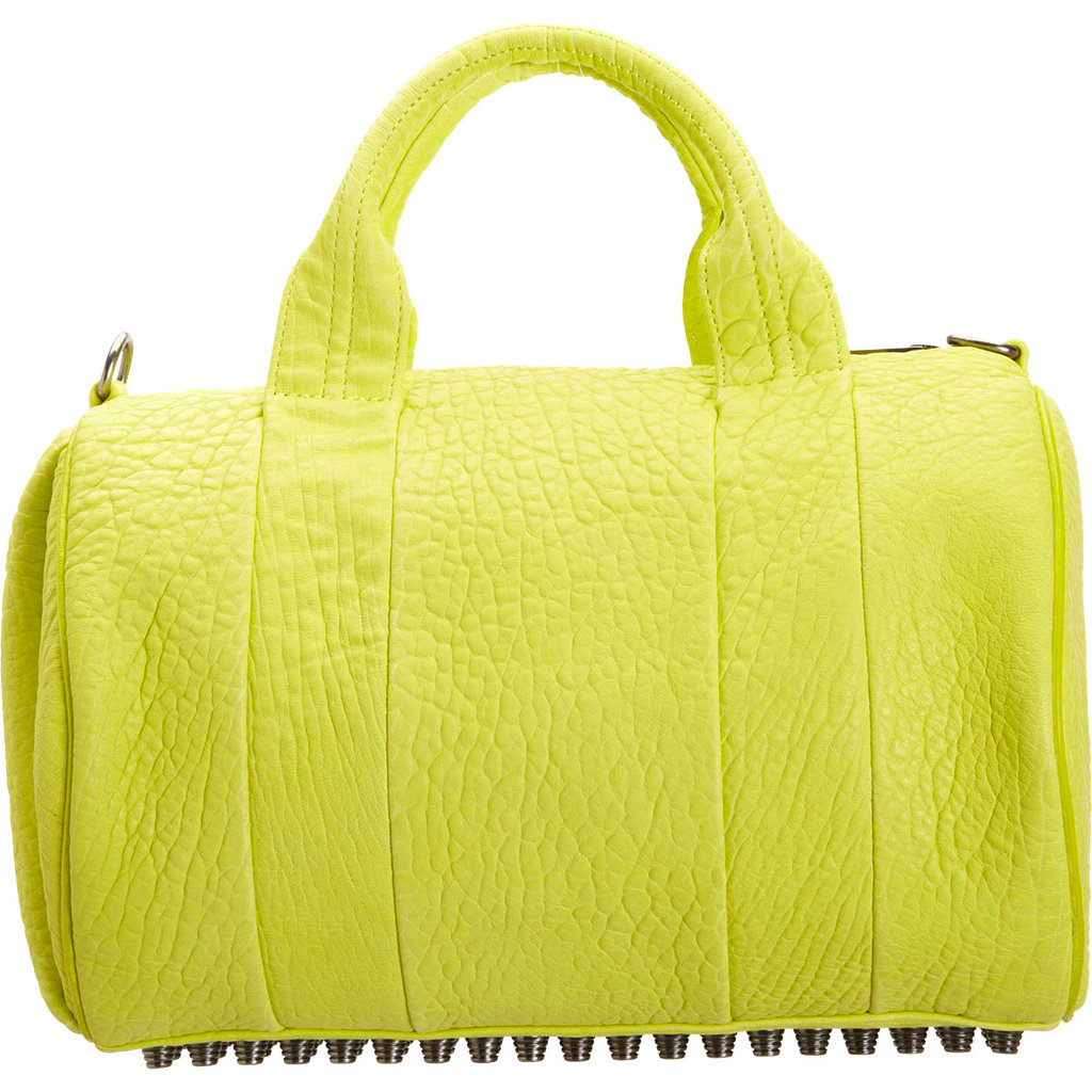 Forever a favorite, Alexander Wang's Rocco Duffel ($539, originally $895) is available in a punchy yellow perfect for Summer.
