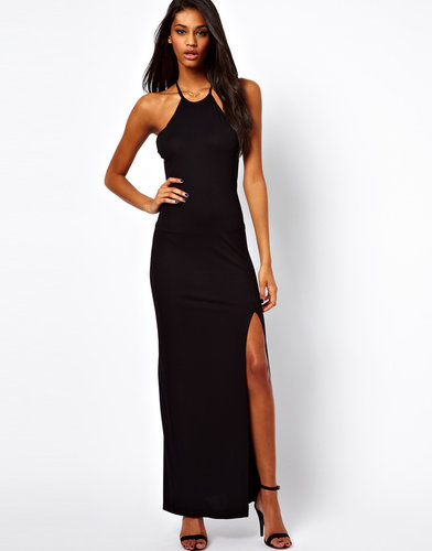 Love Maxi Dress with High Neck