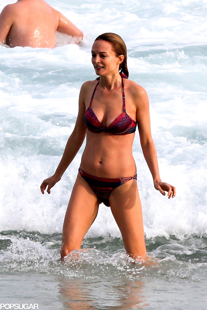 Heather Graham wore a bikini in Rio.