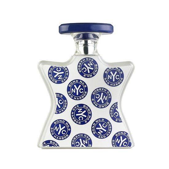 Can't get away this Summer? With notes of ivy leaves, honeysuckle, peonies, and sandalwood, Bond No. 9 Sag Harbor ($180-$240) will almost have you believing you're sitting on the beach in a luxurious seaside town. — Maria Del Russo