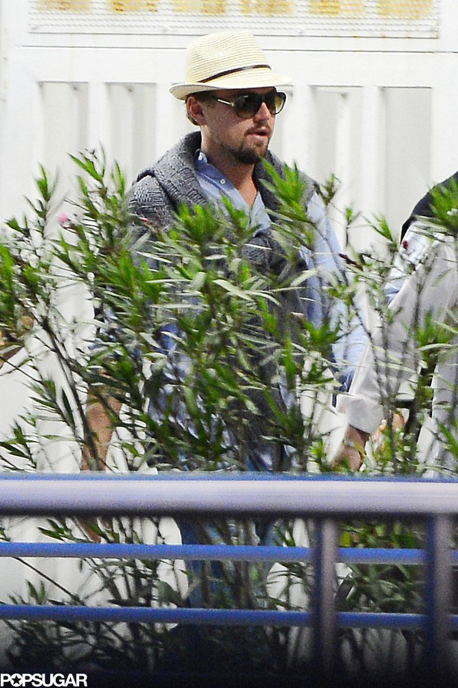 Leonardo DiCaprio walked in Venice, Italy.