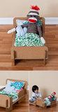 Cardboard Doll Bed