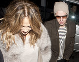 Jennifer Lopez and Casper Smart Celebrate Her Sexy British Show