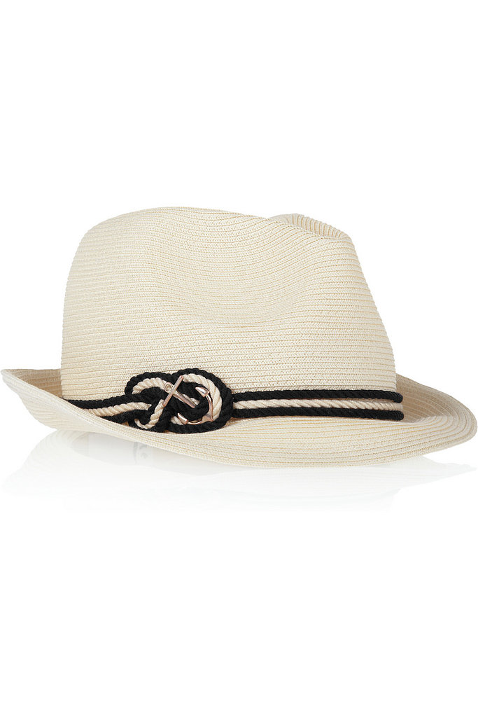 Thoughtfully accessorizing your look can take time that's not available with an early departure or late arrival. Instead, keep Eugenia Kim's anchor-embellished fedora ($265) at hand to add some panache to an outfit.