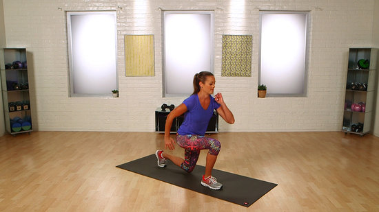 The Split Lunge Jump Will Tone Your Legs For Bikini Season