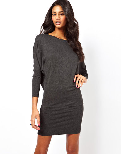 ASOS Mini Dress with Batwing Sleeves