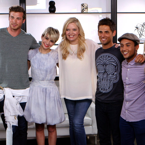 Baby Daddy Cast Diaper Derby Challenge (Video)