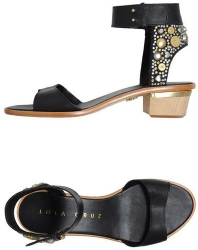 LOLA CRUZ High-heeled sandals