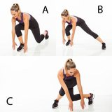 Triple-Threat Lunge