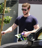 "Liam Hemsworth Hits the Gym Amid Reports He and Miley Are ""Hanging in There"""