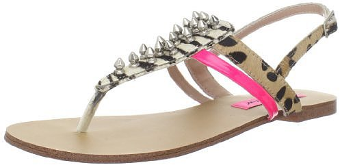 Betsey Johnson Women's Corii Thong Sandal