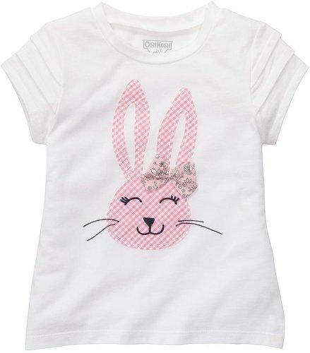 Oshkosh b'gosh bunny easter tee - toddler