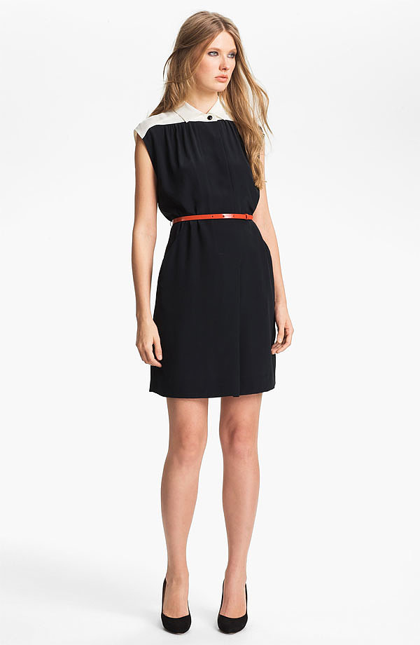 Jason Wu never fails to delight with his lower-priced Miss Wu line, and this black-and-white shirtdress ($375) is a perfect example. I'll wear it all Summer to work and then toss it over a turtleneck come fall. It's an easy way to start embracing the minimalist look that's getting so big.  — MLG