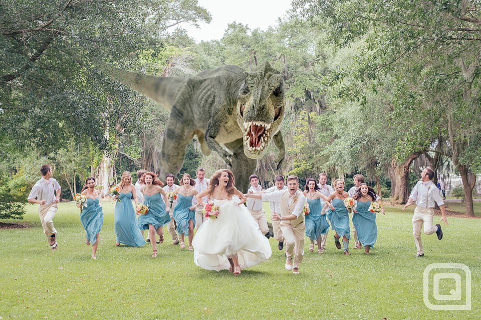 An Amazing Dinosaur Photoshop