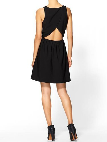 Tinley Road Cutout Back Fit and Flare Dress