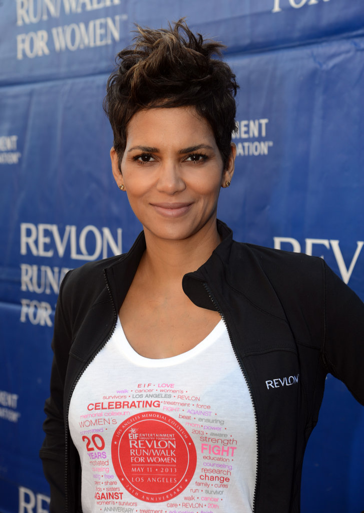 Always one to try a fun style, Halle Berry often chooses to spike her pixie high.
