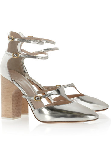 We guarantee these metallic Chloé stunners ($570, originally $950) will find a way into your year-round wardrobe.