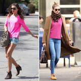 Who Has the Best Street Style Miranda Kerr or Jessica Hart?
