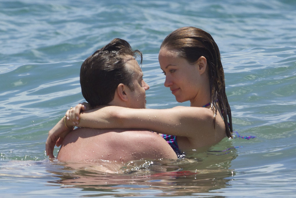 Super loved-up couple Jason Sudeikis and Olivia Wilde only had eyes for each other while holidaying in Hawaii on May 26.