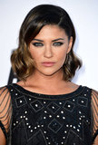 Jessica Szohr looked smoldering at The Internship with her sexy smoky eye and vintage-inspired waves. Find out the exact makeup used for her look here.