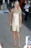 Looking like the ultimate golden girl, Naomi Watts shimmered in a metallic Calvin Klein dress back in 2011.