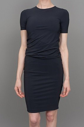 T by Alexander Wang Tricot Dress Black