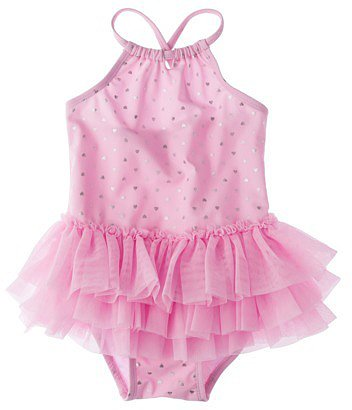 Circo® Infant Toddler Girls' 1-Piece Swimsuit