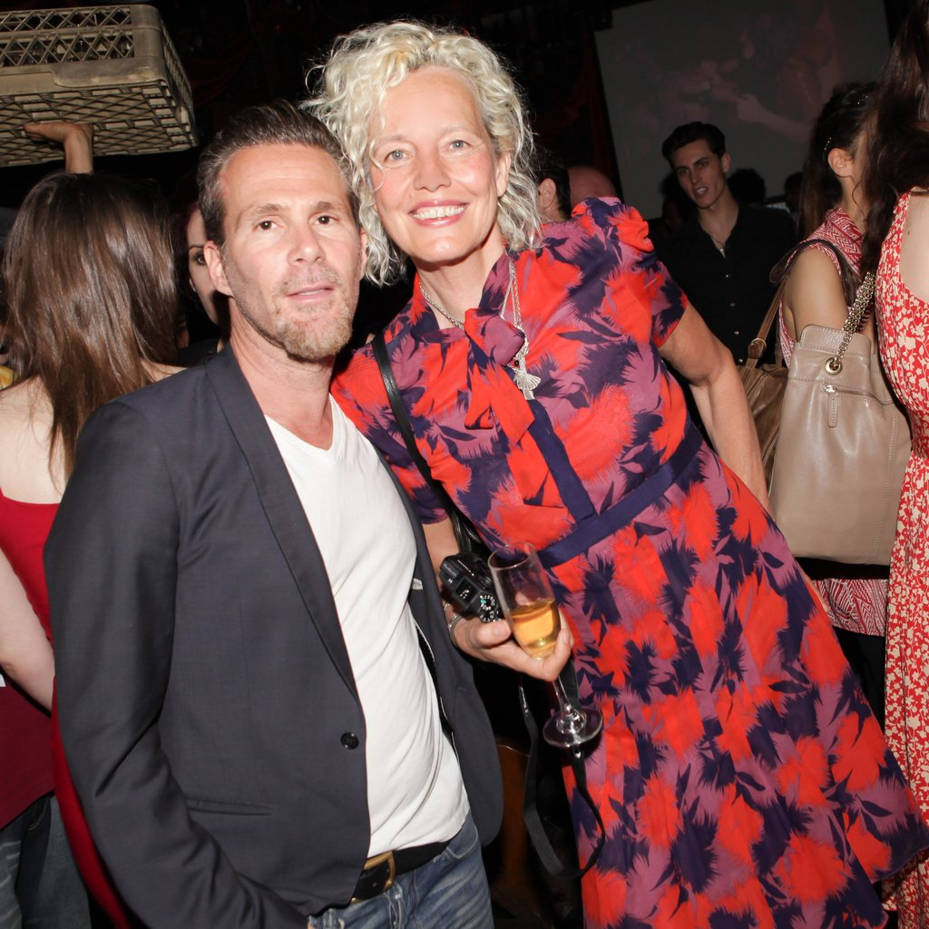 Scott Lipps and Ellen von Unwerth at a party they threw for Vs. Magazine in New York. Source: Angela Pham/BFAnyc.com